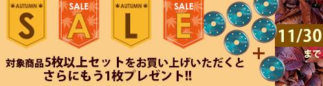 ダイヤモンドカッターSALE2021_10月11月